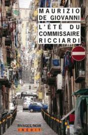 L'été du commissaire Ricciardi - Couverture - Format classique