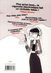 Ma cigarette électronique - 4ème de couverture - Format classique