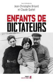 Enfants de dictateurs - Couverture - Format classique