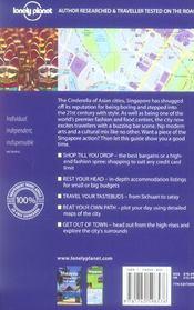 Singapore (7e edition) - 4ème de couverture - Format classique