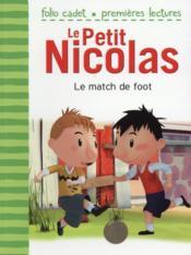 Le petit Nicolas T.102 ; le match de foot - Couverture - Format classique