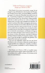 Le phare, voyage immobile - 4ème de couverture - Format classique