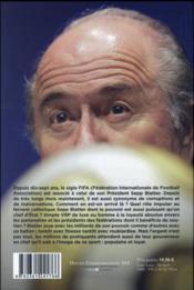 Blatter, un monde à vendre - 4ème de couverture - Format classique