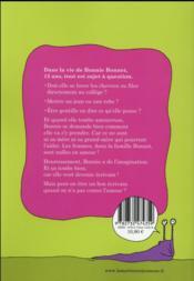 Le grand roman de ma petite vie ; décide-toi ! - 4ème de couverture - Format classique
