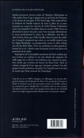 Brasier noir - 4ème de couverture - Format classique
