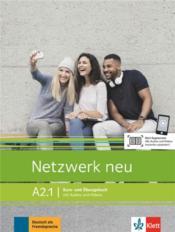 Netzwerk neu ; allemand ; A2.1 ; livre + cahier - Couverture - Format classique