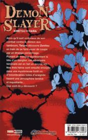 Demon slayer T.4 - 4ème de couverture - Format classique