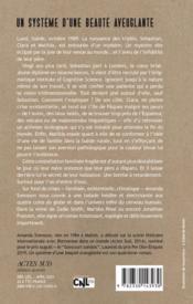 Un système d'une beauté aveuglante - 4ème de couverture - Format classique