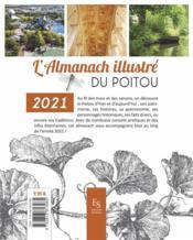 L'almanach illustré du Poitou 2021 - 4ème de couverture - Format classique