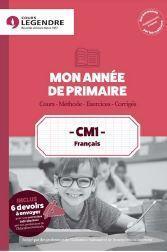 Mon année de primaire ; français ; CM1 ; cours, méthode, exercices, corrigés - Couverture - Format classique