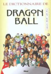 Le dictionnaire de dragon ball - Couverture - Format classique