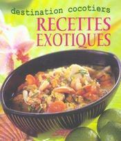 Recettes exotiques ; destination cocotiers - Intérieur - Format classique