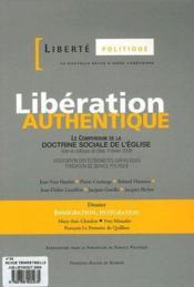 Liberté politique t.34 ; libération authentique - Couverture - Format classique
