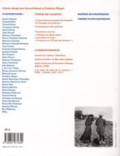 Les Cahiers De L'Herne T.82 ; Colette - 4ème de couverture - Format classique