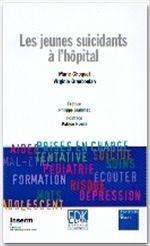 Les jeunes suicidants à l'hôpital - Couverture - Format classique