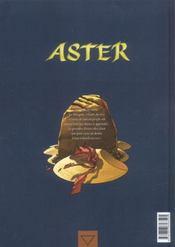 Aster t.2 ; Aryama - 4ème de couverture - Format classique