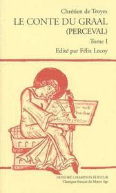 Les romans t.5 ; le conte du Graal (Perceval) - Intérieur - Format classique