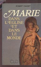 Marie dans l'eglise et dans le monde - Couverture - Format classique