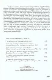 L'elevage ovin en france. espaces fragiles et dynamique des systemes agricoles - 4ème de couverture - Format classique