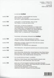 Revue Le Débat N.157 ; quel après-crise ? - 4ème de couverture - Format classique