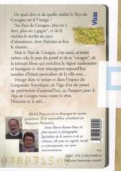Passeport pour le pays de cocagne - 4ème de couverture - Format classique