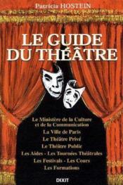 Guide Du Theatre (Le) - Couverture - Format classique
