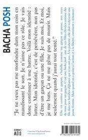 Bacha posh - 4ème de couverture - Format classique
