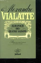Almanach Des Quatre Saisons. - Couverture - Format classique