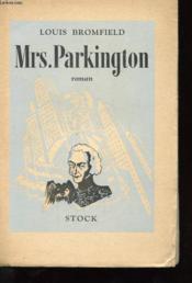 Mrs. Parkington - Couverture - Format classique