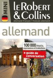 Robert & Collins ; mini dictionnaire allemand ; français/allemand ; allemand/français - Couverture - Format classique
