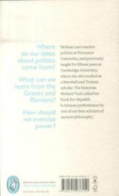 Greek And Roman Political Ideas: A Pelican Introduction - 4ème de couverture - Format classique