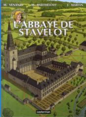 Les voyages de Jhen ; l'abbaye de Stavelot - Couverture - Format classique