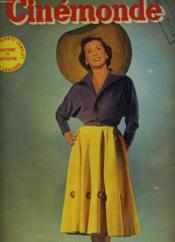 CINEMONDE - 20e ANNEE - N° 939 - RENEE SAINT-CYR, mannequin de haute couture - Couverture - Format classique