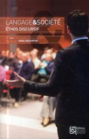 Ethos Discursif - Couverture - Format classique