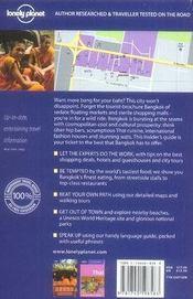 Bangkok (7e edition) - 4ème de couverture - Format classique