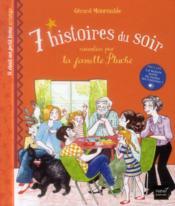 7 histoires du soir racontées par la famille Pluche ; il était un petit tome orange - Couverture - Format classique
