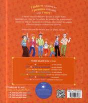 7 histoires du soir racontées par la famille Pluche ; il était un petit tome orange - 4ème de couverture - Format classique