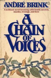A Chain Of Voices - Couverture - Format classique