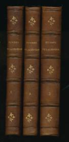 Oeuvres complètes de Buffon avec les suppléments augmentées de la classiffication de G. Cuvier. Oeuvres du Compte de Lacépède comprenant l'Histoire naturelle des quadrupèdes ovipares, des serpents, des poissons et des cétacés. 12 volumes complet - Couverture - Format classique