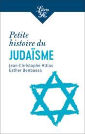 Petite histoire du judaïsme - Couverture - Format classique