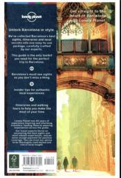 Best of ; Barcelona (3e édition) - 4ème de couverture - Format classique