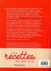 Les recettes de ma vie ; 300 recettes, 300 récits - 4ème de couverture - Format classique