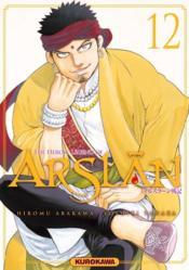 The heroic legend of Arslan T.12 - Couverture - Format classique