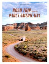 Road trip dans les parcs américains - Couverture - Format classique