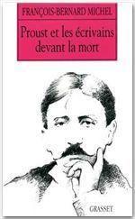 Proust et les écrivains devant la mort - Couverture - Format classique