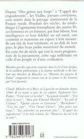 Histoires des paysans de France - 4ème de couverture - Format classique