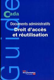 Commission d'accès aux documents administratifs ; rapport d'activité 2006 - Intérieur - Format classique