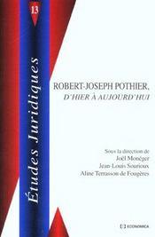 L'Influence De Robert-Joseph Pothier Sur Le Droit En France Et A L'Etranger - Intérieur - Format classique