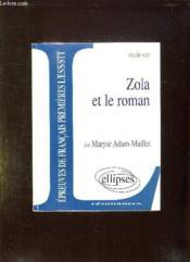 Zola et le roman - Couverture - Format classique