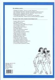Recueil Spirou T.256 - 4ème de couverture - Format classique